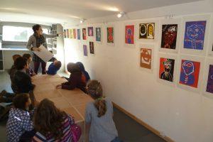 Ateliers de création Mélissa Tresse à l'école de Saint Paul de Jarrat