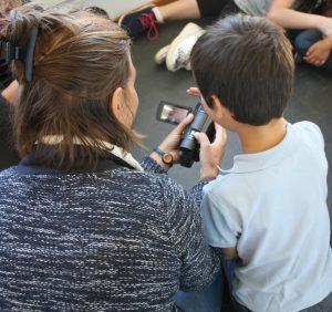 Atelier d'initiation au film avec l'école de Quérigut
