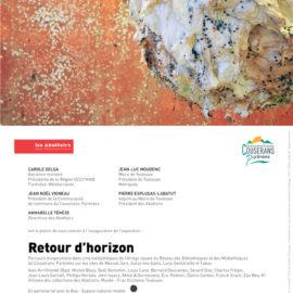 «Retour d'horizon», Un parcours d'art contemporain dans les médiathèques du Couserans