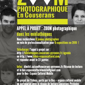 Appel à projet Zoom photographique en Couserans